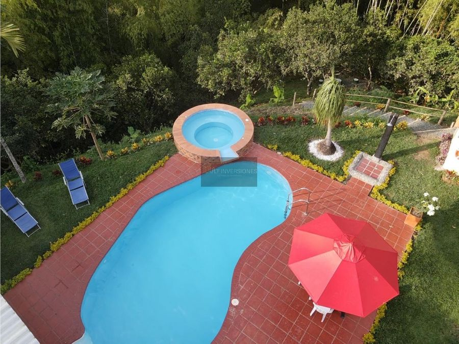 hermosa casa campestre venta turismo 5 hab piscina panaca quimbaya
