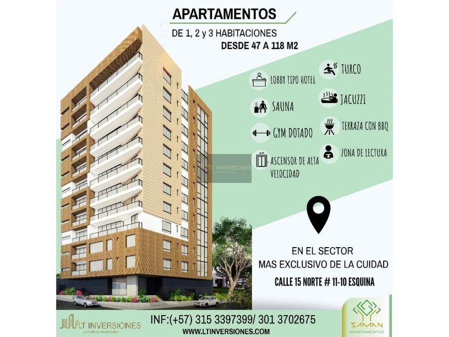 apartamento saman 2 habitaciones
