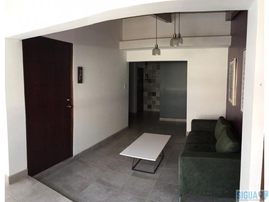 apartaestudio en renta zona 15