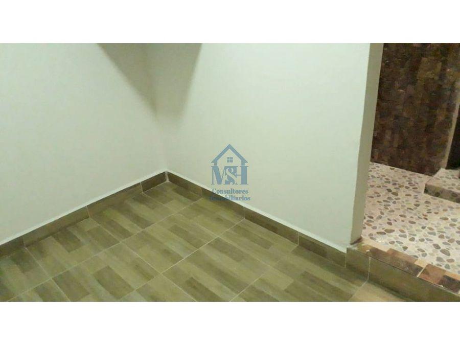apartamento muy comodo de segundo piso 38m2 la cumbre en bello