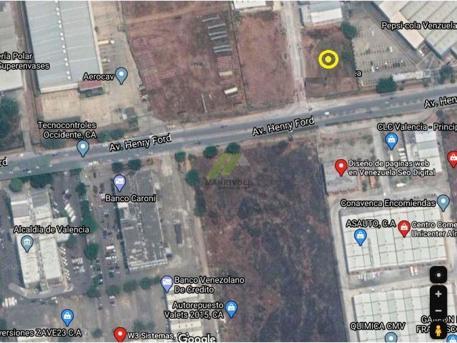 parcela en alquiler area comercial cercada con vigilancia en valencia