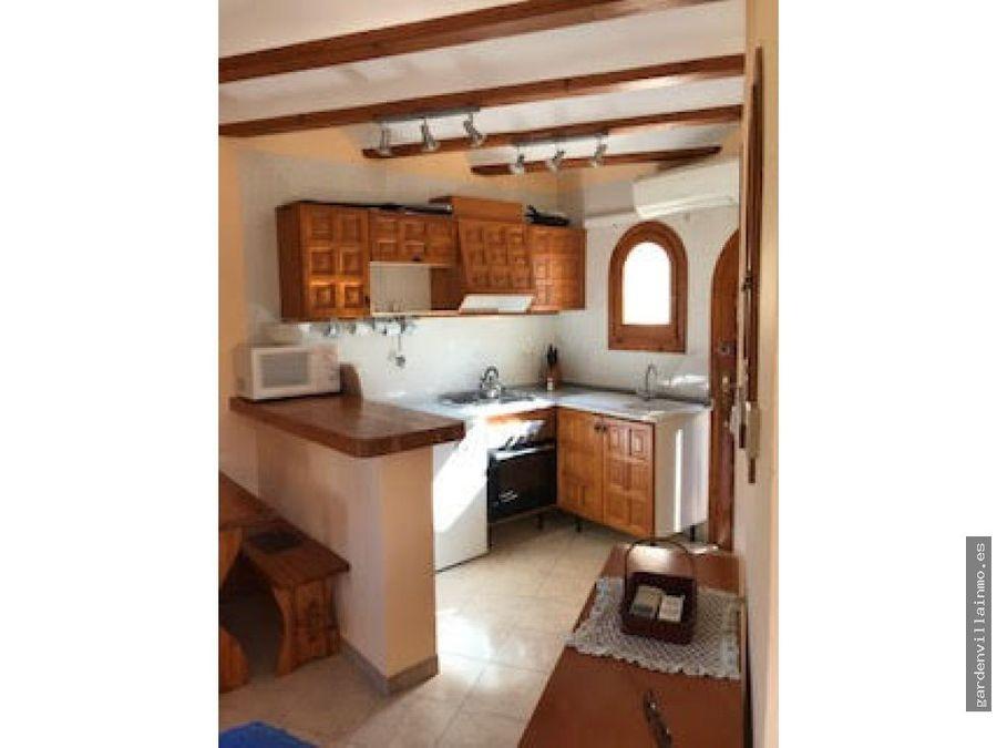 alquiler anual apartamento en el montgo