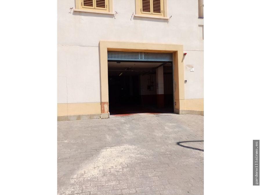 venta de casa de pueblo con garaje en jesus pobre
