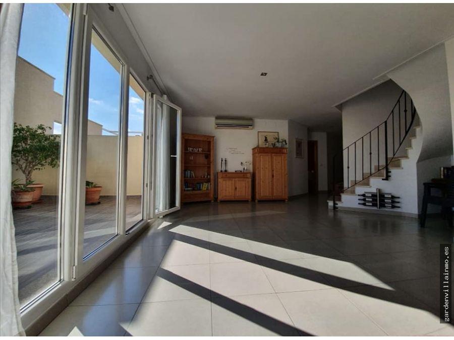 venta atico duplex terraza denia