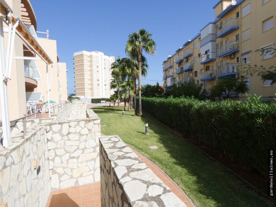 apartamento en primera linea de playa en denia