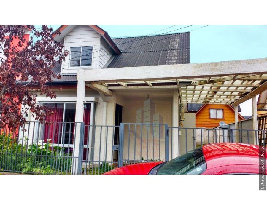 casa nueva en condominio puertas del sur