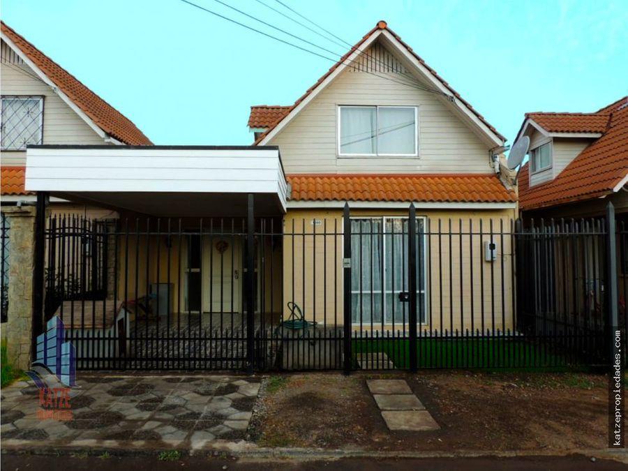 excelente casa en villa alonso de ercilla