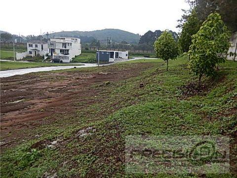 terreno en venta km165 condominio las vinas
