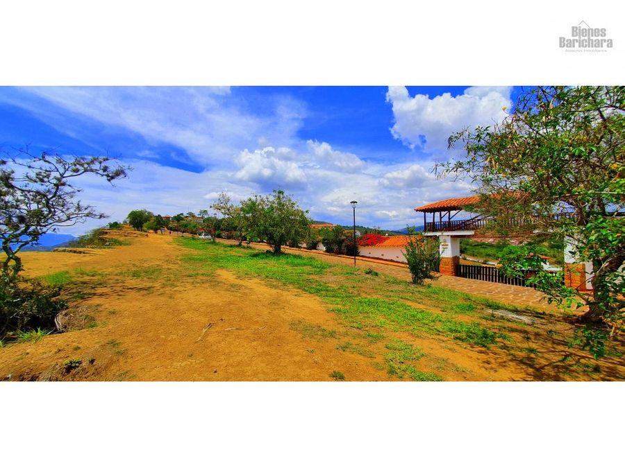 vendo lote 24 a bucareguabagari barichara area total 240 mts2