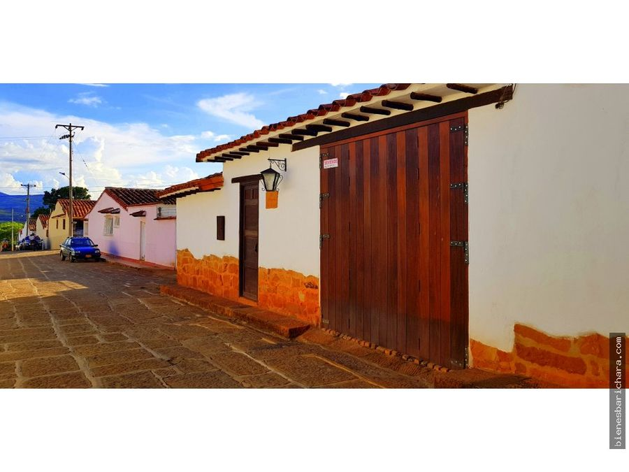 venta casa en barichara la plazuela