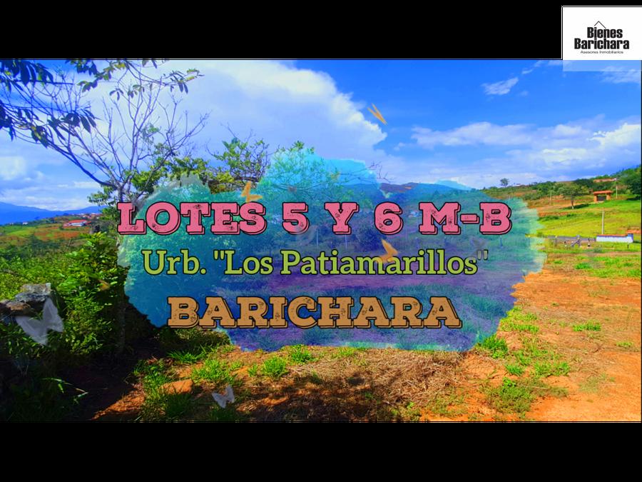 vendo lotes5y6 patiamarillos barichara urbanos 1148 mst2