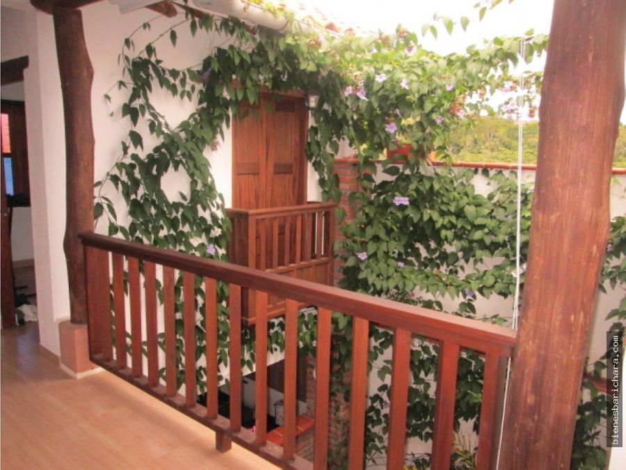 venta casa villasantiago barichara