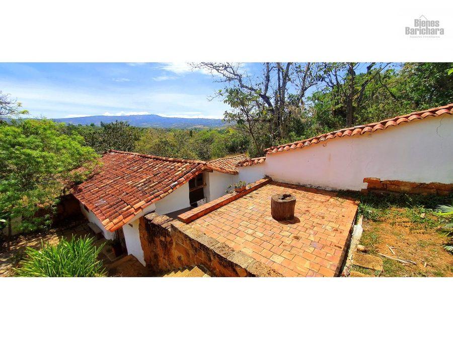 vendo casa verdeazul la loma barichara 980mts2
