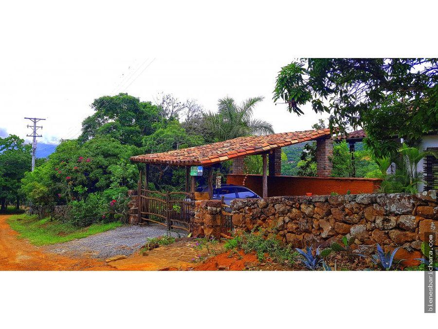 vendo o rento casa elcocuy barichara