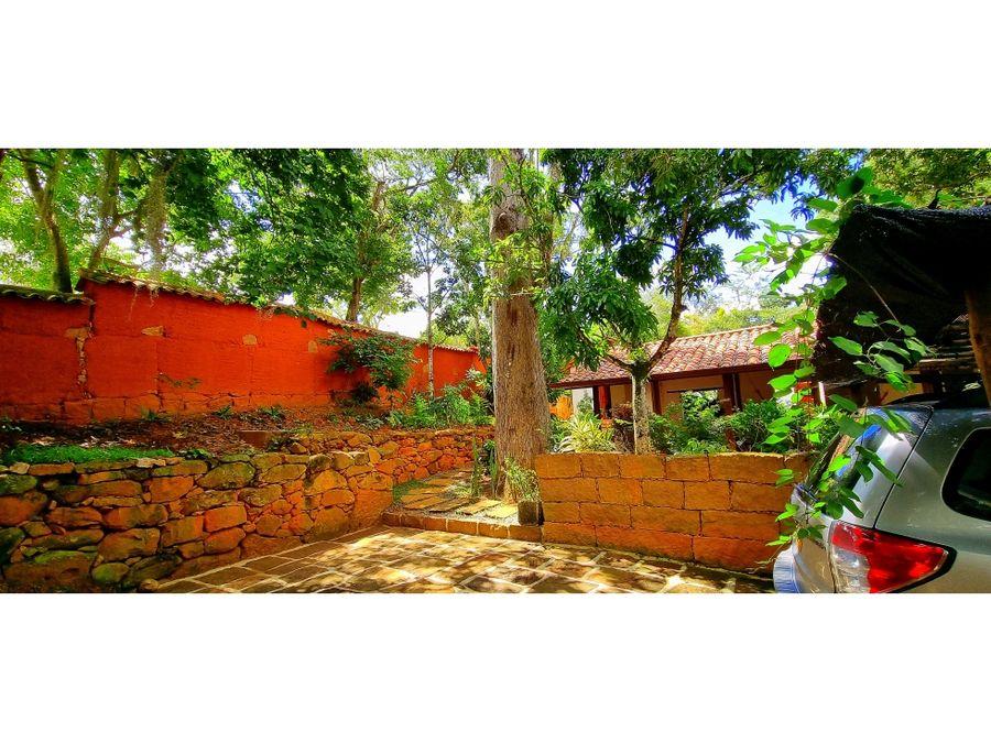 vendo casa tapia roja barichara