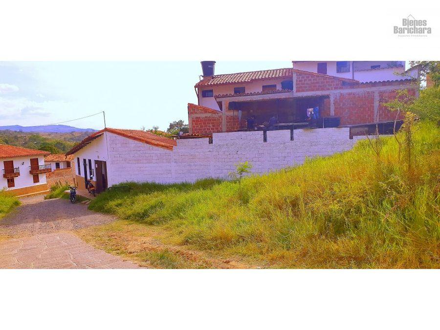 vendo casa tierraadentro barichara