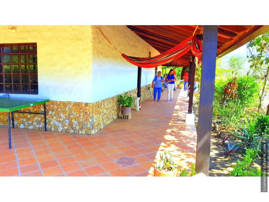 venta casa villaluciana barichara