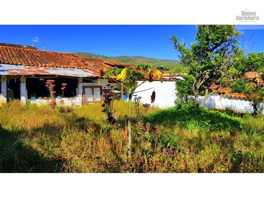 venta casa antiguasanantonio barichara