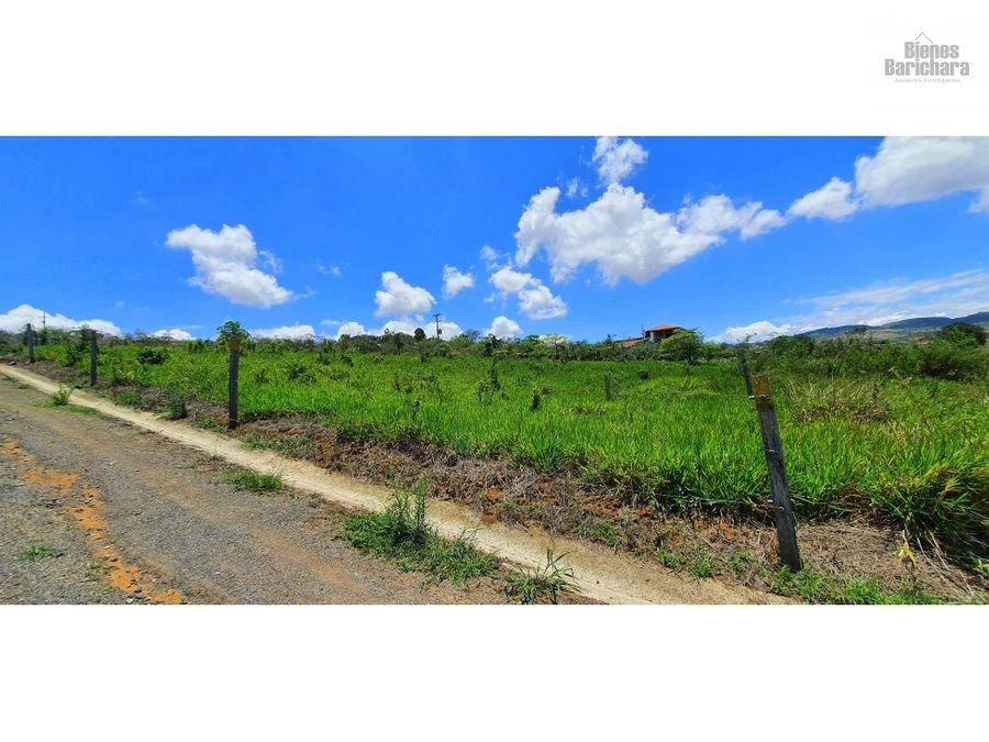 vendo lote 8 villa don juan barichara 2537 mts2