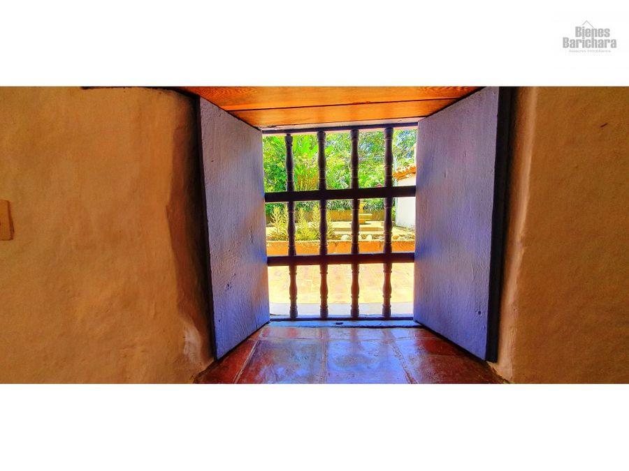 vendo casa en barichara la casita azul