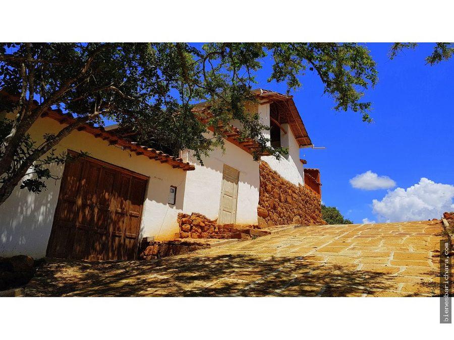 venta casa laloma barichara
