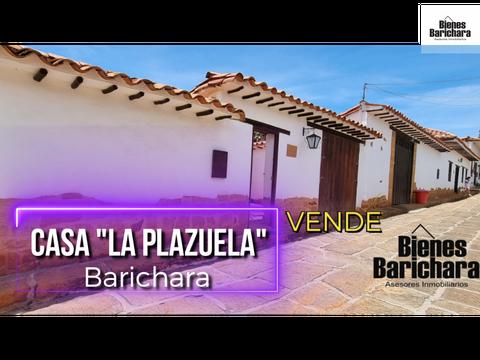 vendo casa la plazuela barichara