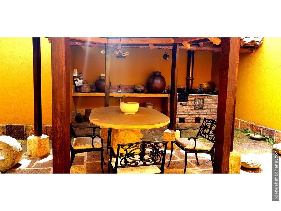 venta casa en barichara b sanantonio 277mts