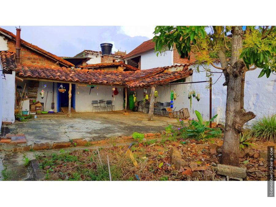 venta casa antigua barichara