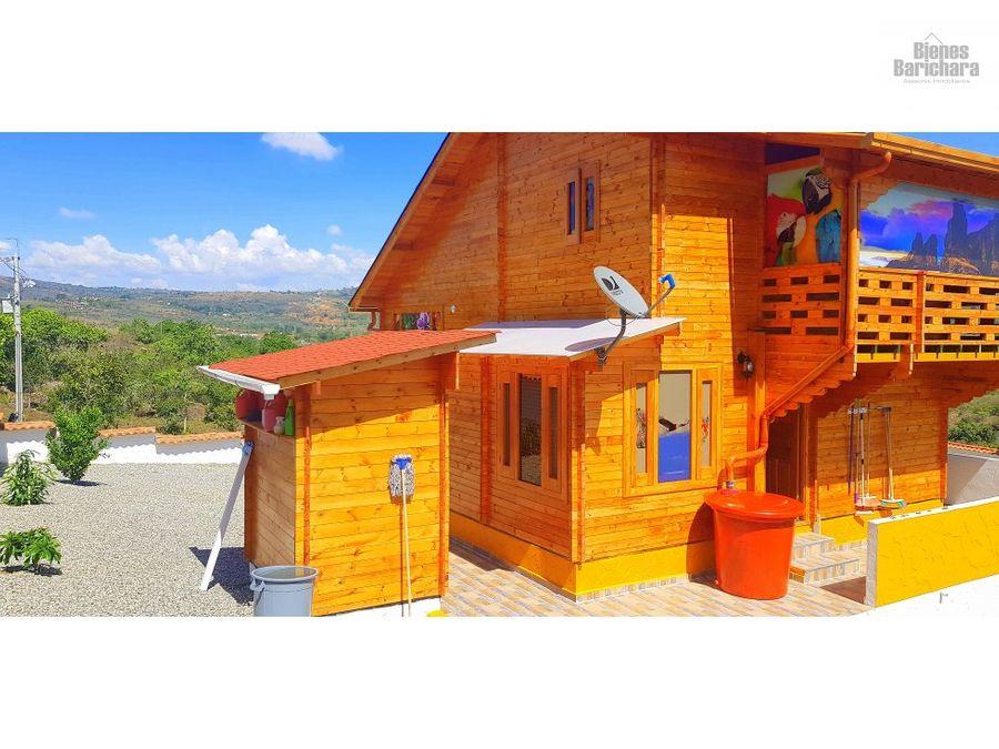 venta casa en barichara cabana soy y luna