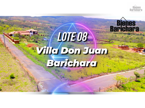 vendo lote 8 villa don juan barichara 2537 mts2