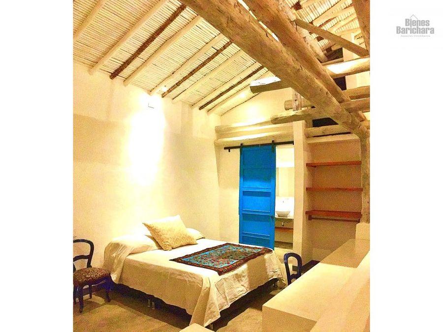 vendo casa loft saja barichara barrio el tejar