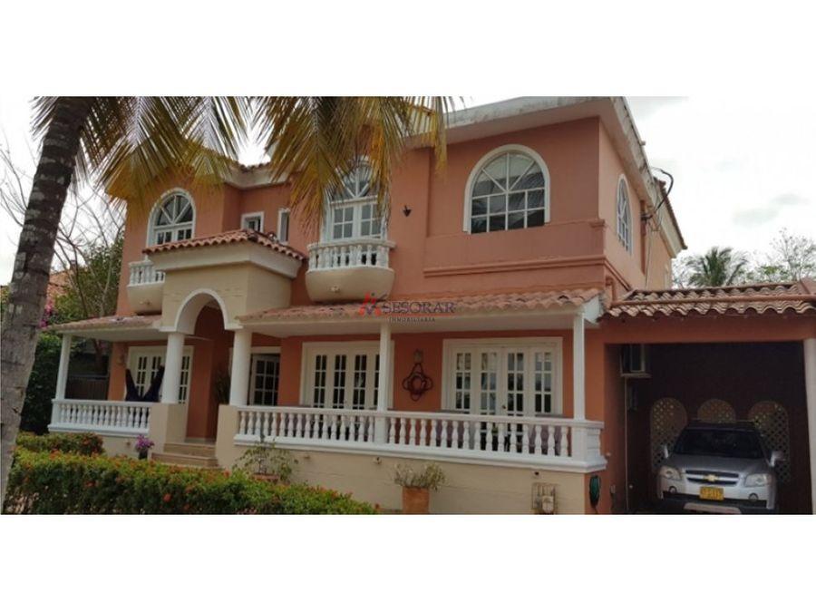 cartagena venta de casa en zona norte