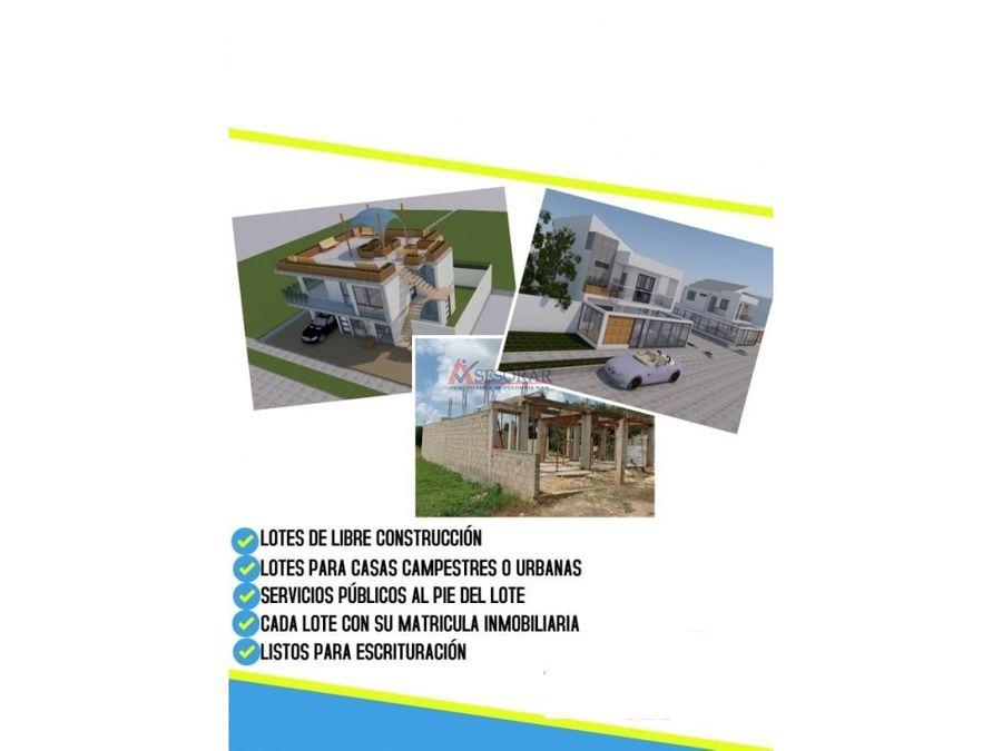proyecto lotes arjona bolivar