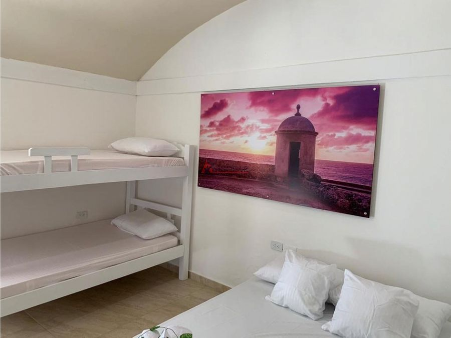 cartagena venta casa hotel cabrero