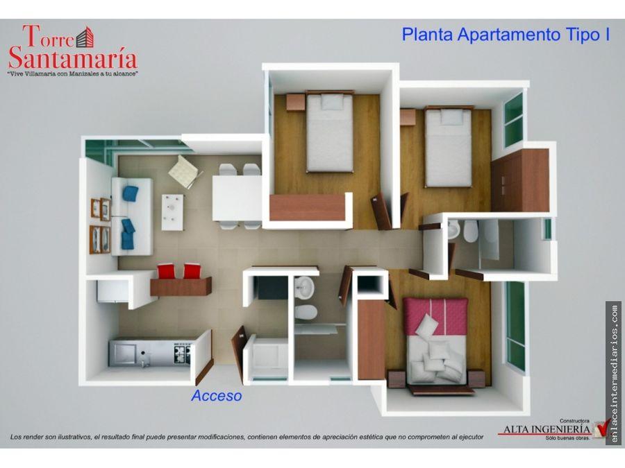 venta apartamentos villa maria