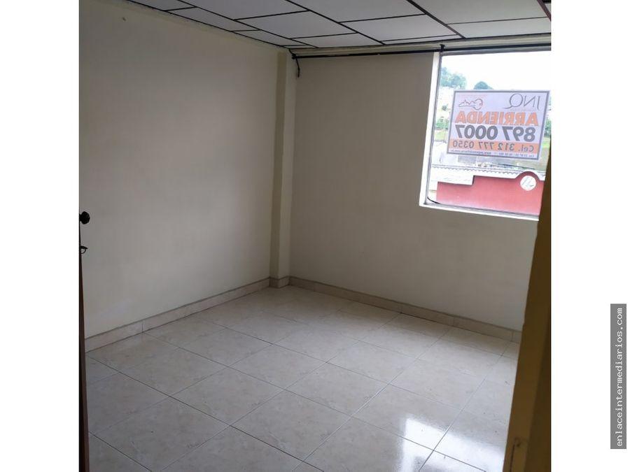 se arrienda apartamento sector villa carmenza