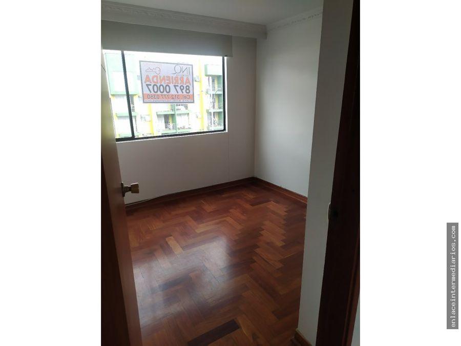 se arrienda apartamentos sector av santander