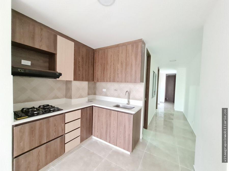 venta de apartamento en cabanas bello con parqueadero