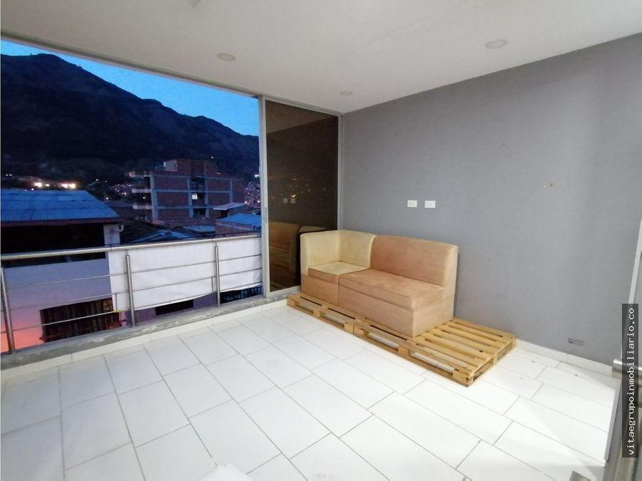 arriendo de hermoso y amplio apartamento en bello