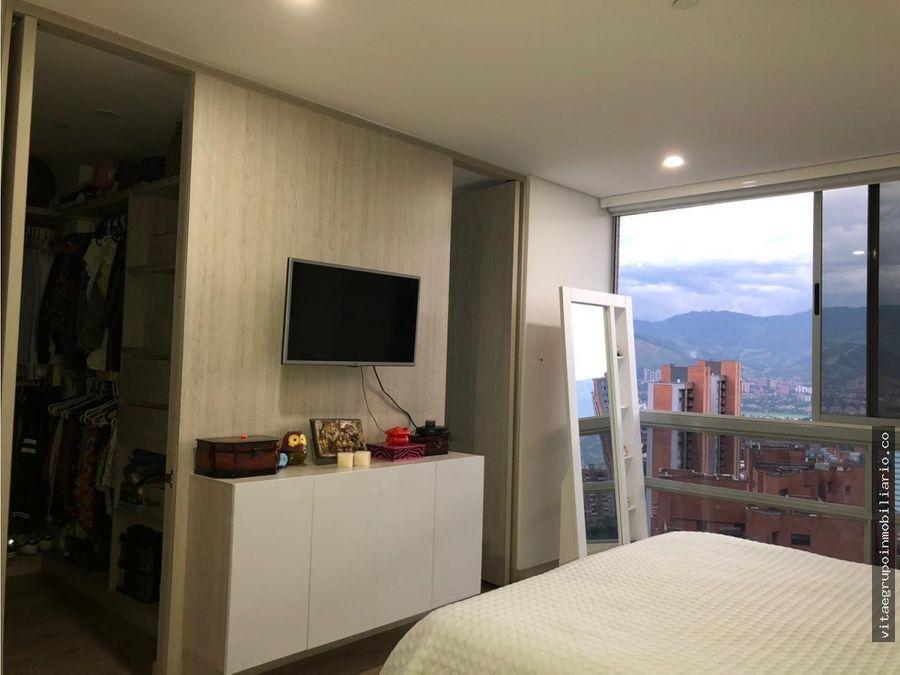 venta de apartamento en castropol con vista panoramica poblado