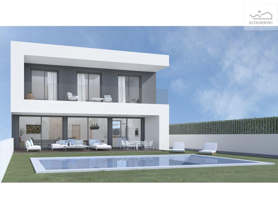 terreno con proyecto de casa aprobada en sitges garrofers 83