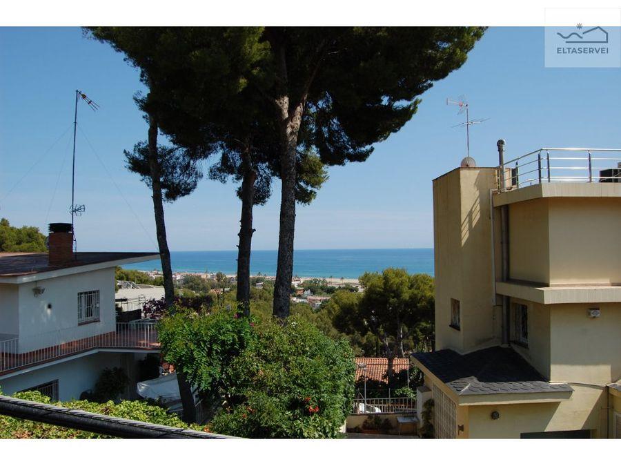 casa con vistas al mar en poal