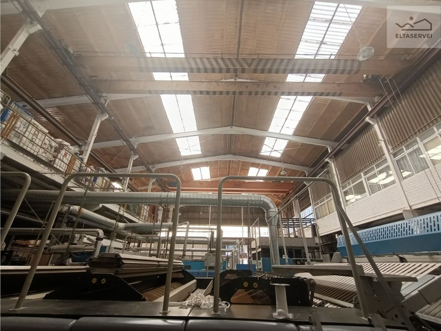 nave industrial en venta en palleja