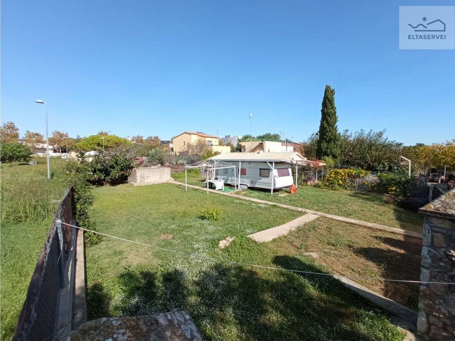 terreno con proyecto de casa aprobada en vilanova i la geltru