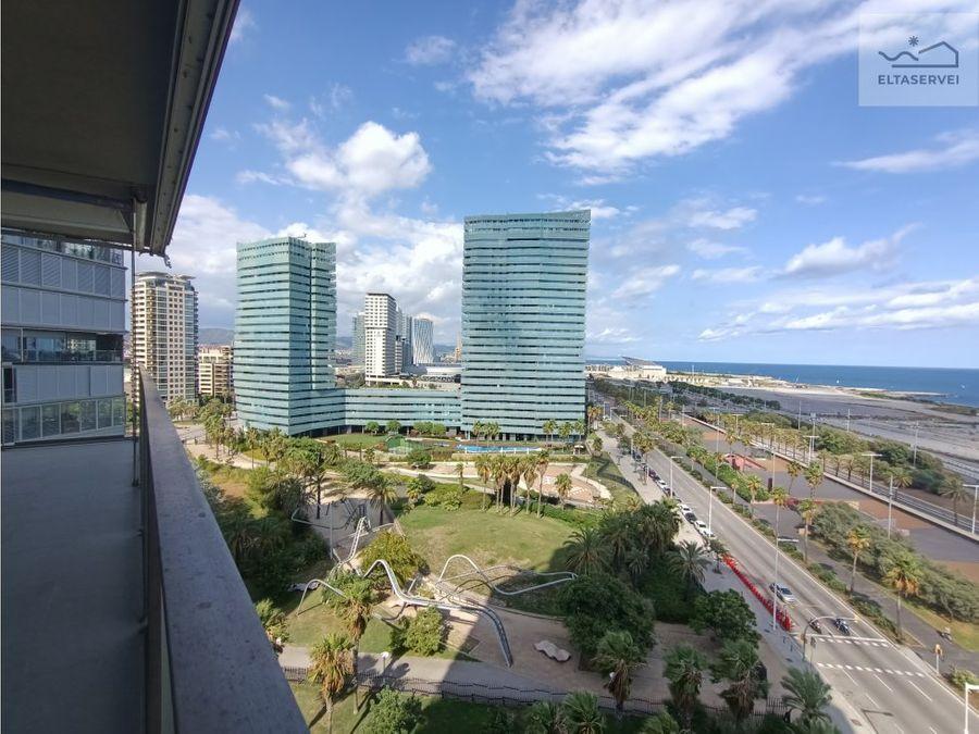 una ventana al mar en la ciudad