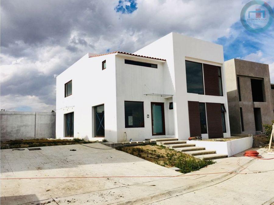 casa nueva venta 15min metepec villas del campo