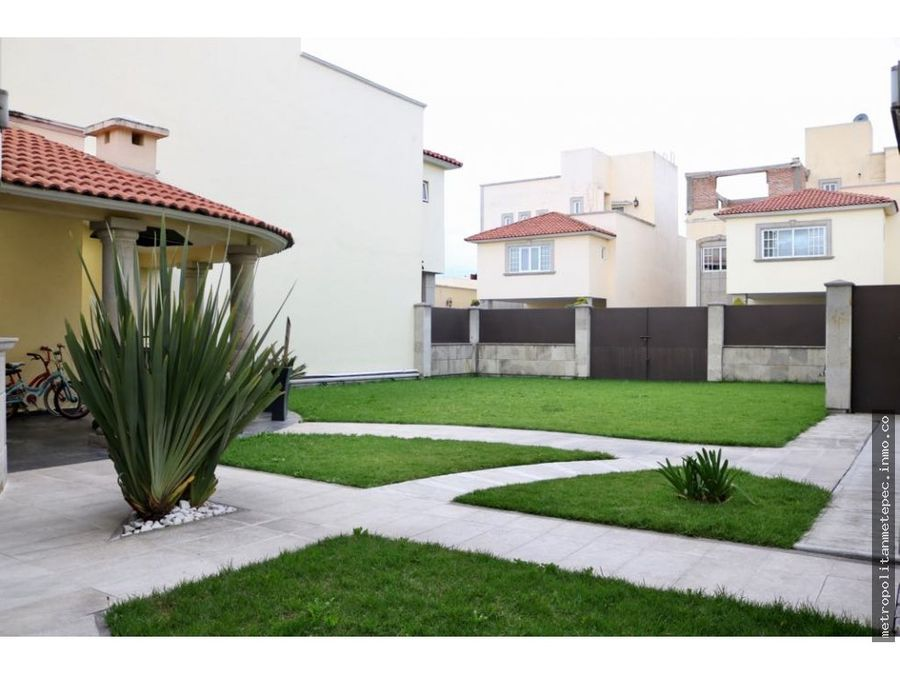 casa en venta en metepec fracc por av tecnologico