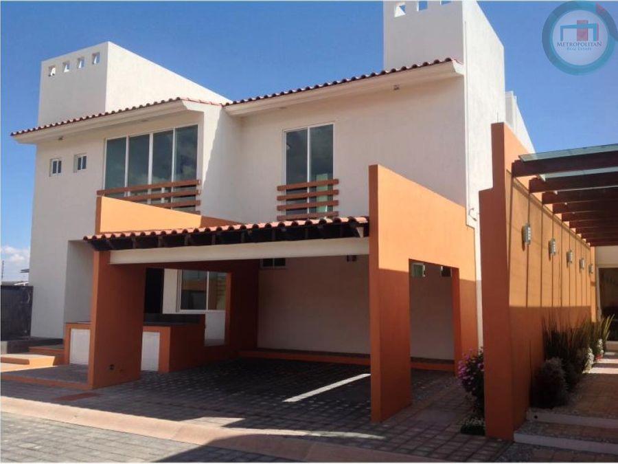 casa nueva en venta en toluca en residencial cacalomacan