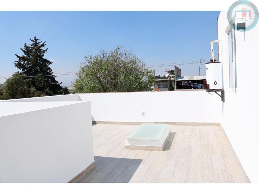 casa venta nueva san mateo atenco roof garden