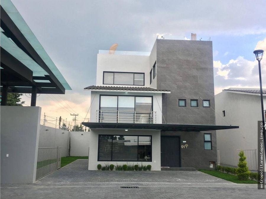 casa nueva venta metepec fracc por av tecnologico